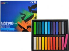 Mungyo Soft Pastels for Artists Box of 24